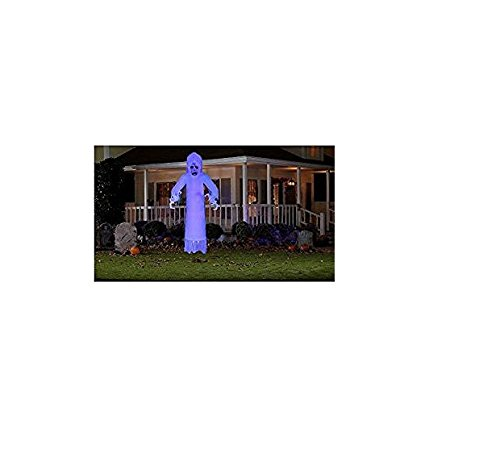 Halloween Floating Ghost With Lightshow Effects