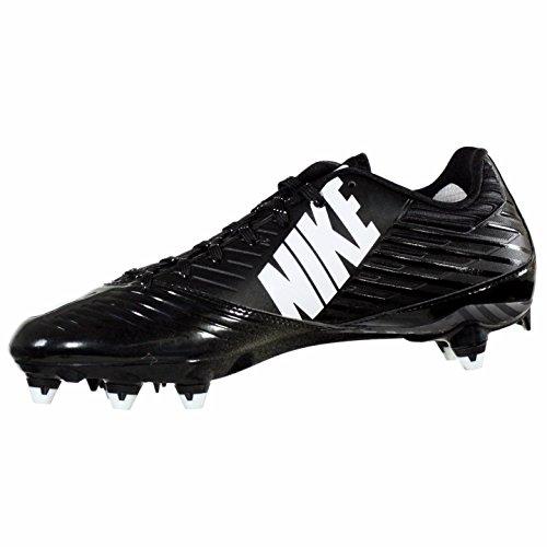 Nike Vapor Speed Low D Nero / Bianco Mens Tacchetti Da Calcio Noi 11,5 M Eu 45,5