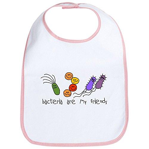 CafePress Bacteria Are My Friends Bib Cute Cloth Baby Bib, Toddler Bib