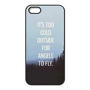 Ed Sherran Quotes iPhone Case for iphone 5/5s, Well-designed TPU iphone 5s Case, iphone accessories