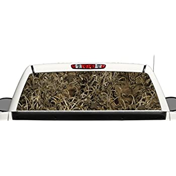 Amazon.com: Camuflaje Truck SUV Rear Window Decal Gráfico ...