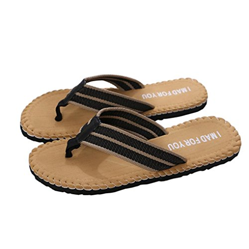 Sikye Männlichen Pantoffel Sommer Strand Freizeitschuhe Indoor Outdoor Flip Flops Sandalen Ich Für Sie Gemacht Gelb