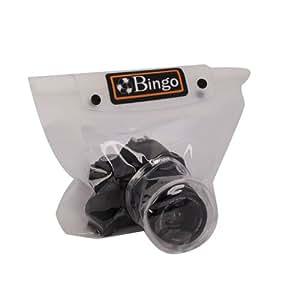 BINGO big SLR Waterproof Case Housing Pouch Bag White For Camera