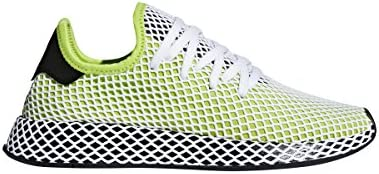 Adidas Originals Deerupt Runner Men s Shoes Solar Slime Core Black Core Black.