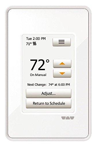 Ditra Heat Touchscreen Programmable Floor Heating Thermostat