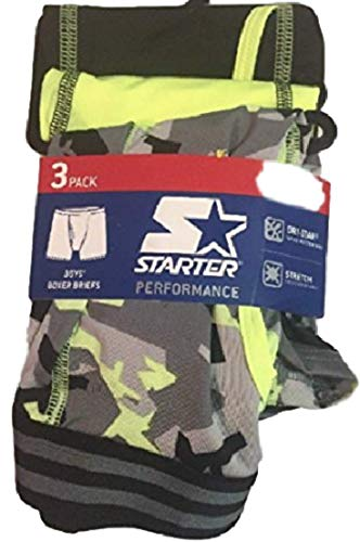 (Starter Performance 3 Pack Boys Boxer Sports Briefs Small)
