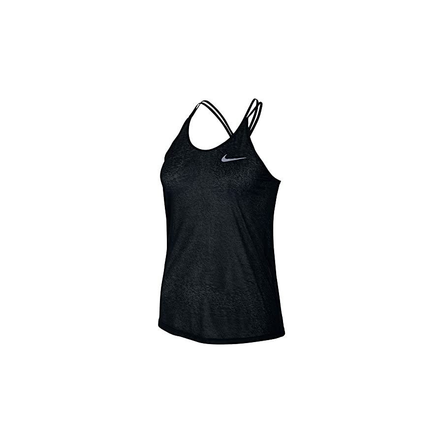 NIKE Women's Dri Fit Cool Breeze Strappy Running Tank Top
