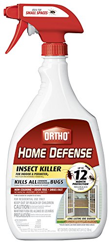 (Ortho 0221310 Home Defense MAX Insect Killer for Indoor and Perimeter RTU Trigger)