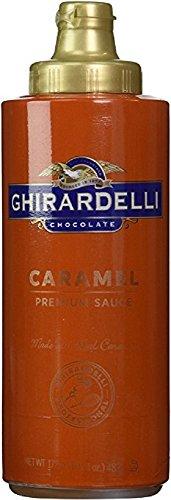Caramel Ice Cream Topping - Ghirardelli Caramel Flavored Sauce 17 oz. bottle