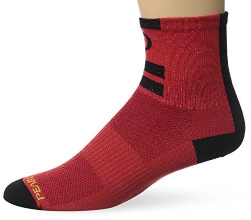 Pearl Izumi - Ride Men's Elite Socks, Core Red, Large