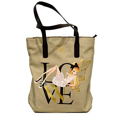 Winx fate borsa Winx Woman modello shopper novità assoluta