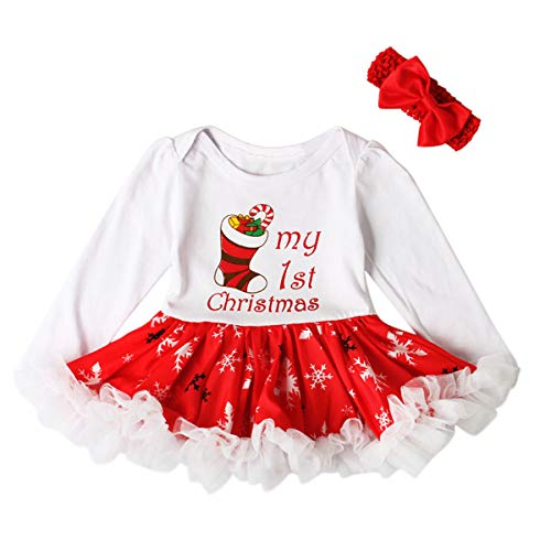 58c5874ccfb5 Jual Zukuco Baby Girl Tutu Dress Outfit Letter Print Ruffle Romper ...
