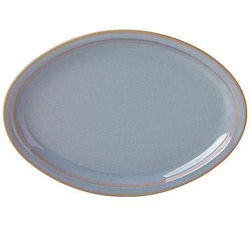 Dansk Glazed Oval Platter, 14-Inch, Haldan