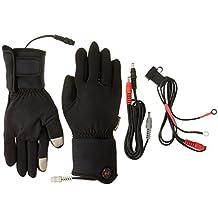 Mobile Warming Unisex-Adult Heated 12v Gloves Liner (Black, X-Large)