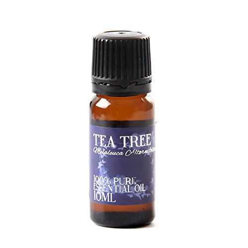 Mystic Moments Tea Tree Essential Oil 100% Pure 10Ml (Oil Tropical Spice Aromatic)
