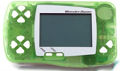 WonderSwan Skeleton Melon Sorbet Handheld Console Limited ~ B&W/Monochrome Display (Japanese Import Video Game System)