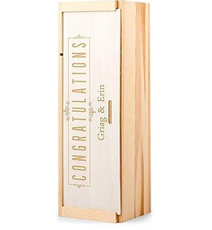 GiftTree - Cajas de vino personalizadas: Amazon.com: Grocery ...