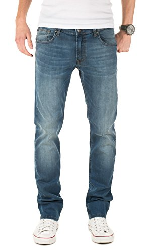 WOTEGA Herren Jeans Justin, Blau (Dress Blues 94024), W31/L34