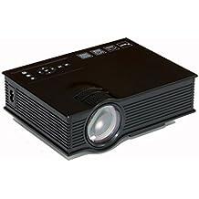 Abdtech Mini LED Projector 1000 lumens Multimedia Pico Portable Home Theatre Projectors for Movie Interface Video Games