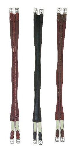 Perri's Leather Contour Girth, Chestnut, 34-Inch