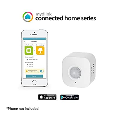 D-Link DCH-S150 mydlink Wi-Fi Smart Motion Sensor (Certified Refurbished)