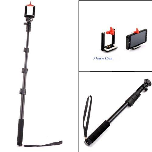 YunTeng 4 Section Retractable Handheld Monopod