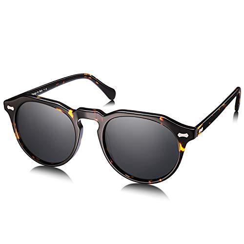 Carfia Vintage Polarized Sunglasses for Women UV400 Protection Lens Acetate Frame (Carfia Vintage Womens Polarized Sunglasses With Uv400 Protection)
