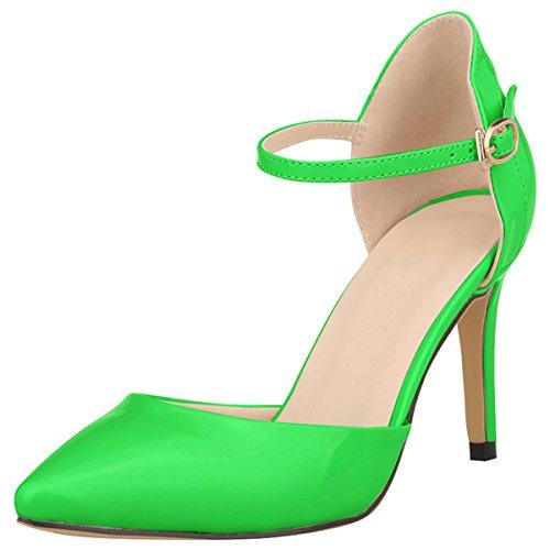 Grande Chaussure Femme Talons 41 wealsex Soirée Taille 40 Bout Vernis Moyen  Sandales Elégant Mariage 42 e80230834139