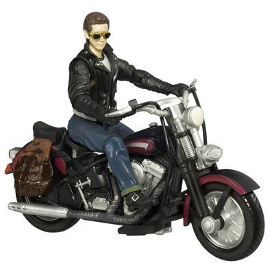 Indiana Jones Kingdom of the Crystal Skull Mutt Williams with Motorcycle Action Figure