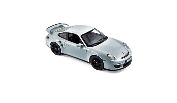 Norev Maqueta de Porsche 911/997 GT2 - 2007 - (Escala 1/18, 187594, Plata Metal: Amazon.es: Juguetes y juegos