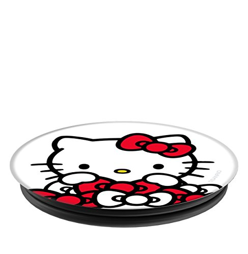 Hello Kitty Bow Pile PopSockets Stand for Smartphones and Tablets by Hello Kitty (Image #3)