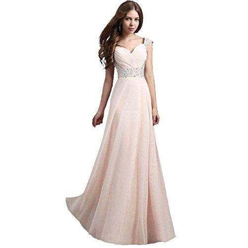 JBZYM VD79003C4 Chiffon Dress Dress Women Dresses - Size XL