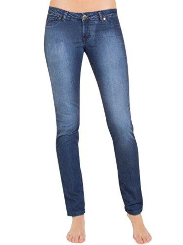 Vestibilità Slim Jogger Blu Lavaggio Elasticizzato 002 Scuro Per Jeans Bassa Vita Denim 7880980a Dritto Donna Carrera 788 Modello Look Tessuto O71UqUn4w