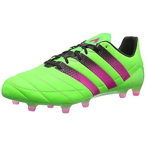 online retailer b97f4 c638e nuevo adidas Ace 16.1 Fg Ag Leather, Botas De Fútbol para Hombre, Negro