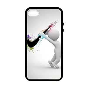 SUUER Custom Just Do It Beautiful Skin Personalized Custom Hard CASE for iPhone 4 4s Durable Case Cover