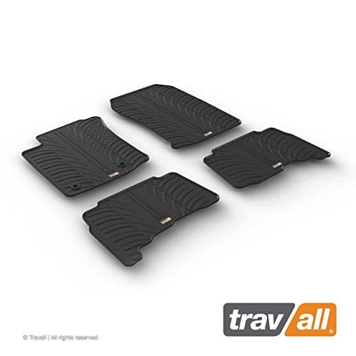 Travall Mats for Toyota Land Cruiser (2012-2015) TRM1264 - All-Weather Rubber Floor (Toyota Land Cruiser Custom Mats)