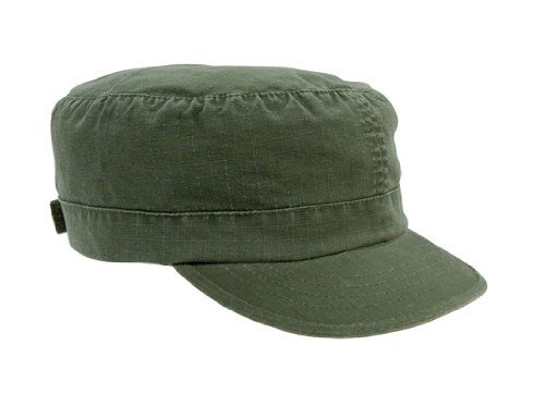 - Rothco Women's R/S Adj Vintage Fatigue Cap, Olive Drab