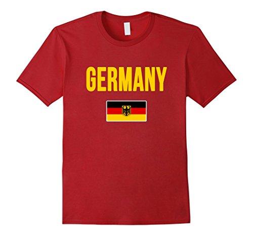 c2a2da10640b23 Germany flag tshirt the best Amazon price in SaveMoney.es