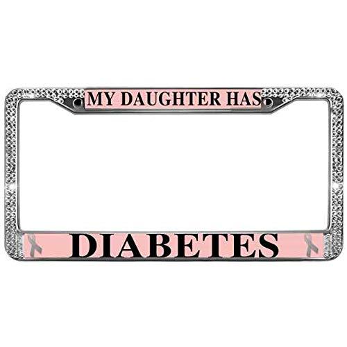 diabetes license plate frame - 5