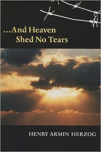 Book ... And Heaven Shed No Tears (Shoah Studies)