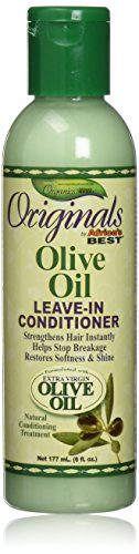 Africa's Best Organics Olive Oil Leave-in Conditioner, 6 Ounce (Africas Best Organics Olive Oil Leave In Conditioner)