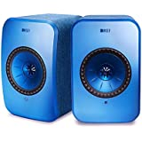 KEF Wireless Speakers (LSX Wireless Speakers (Blue, Pair))