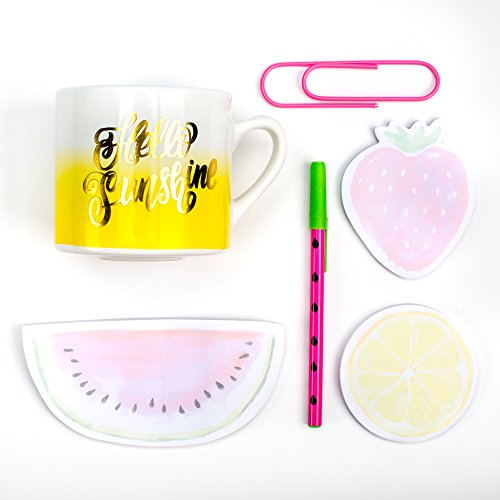 Mug Gift Sets with Stationery - Various Designs (Watermelon Mug Gift Set w/Stationery)