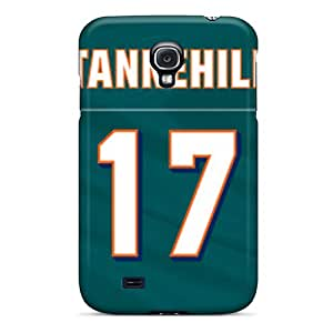 Samsung Galaxy S4 DMQ14156tAtq Provide Private Custom HD Miami Dolphins Skin Shock Absorption Cell-phone Hard Covers -AlissaDubois
