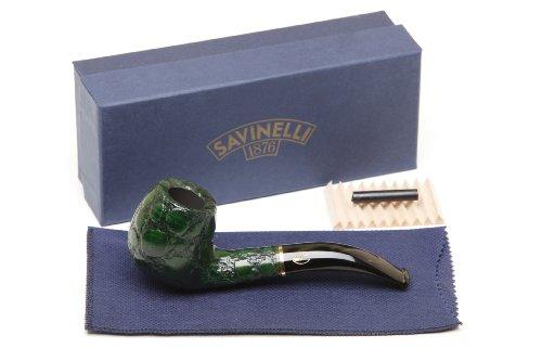 Savinelli Alligator Green 677V Tobacco Pipe by Savinelli (Image #7)
