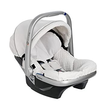 Emmaljunga First Class Plus White Leatherette Baby