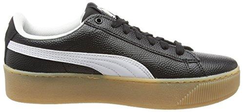 Top Vt Puma puma Low Vikky Women's Puma Sneakers White Platform Black xrXwXtZnq