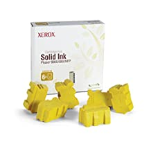Genuine Xerox Yellow Solid Ink Sticks for the Phaser 8860/8860MFP (6 per Box), 108R00748