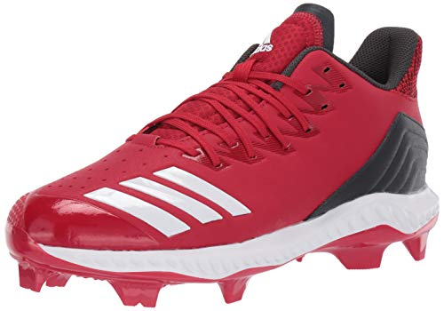 adidas Women's Icon Bounce TPU, Power red/White/Carbon 6 M US