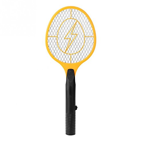 ERTIANANG Cordless Battery Powered Electric Fly Mosquito Swatter Bug Zapper Racket Insects Killer Reject Killers Pest Reject Racket Trap by ERTIANANG